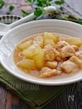 *冬瓜と鶏肉のとろみ煮*