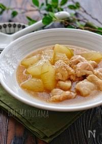 『*冬瓜と鶏肉のとろみ煮*』