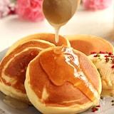 米粉のふわもち♡蜂蜜パンケーキ