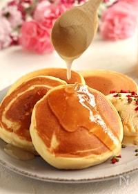 『米粉のふわもち♡蜂蜜パンケーキ』
