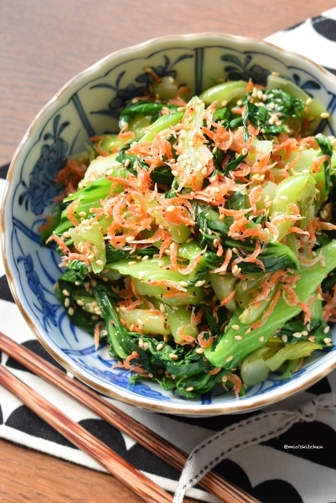 人気 チンゲン 菜 レシピ
