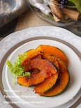 カボチャの生姜焼き