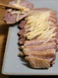 台湾屋台料理【鹽水鴨】塩茹で鴨ロース