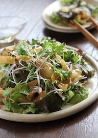 『中華風お刺身サラダ』