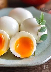 『トロトロ半熟卵の作り方』