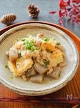 煮込みは5分!厚揚げとこんにゃくと豚肉の味噌煮