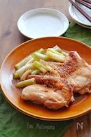 じゅんわり味染み!長ねぎと鶏肉の白だし煮
