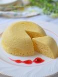 健康おやつ!おからパウダーのチーズ蒸しケーキ☆レンジで4分