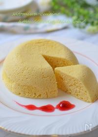 『健康おやつ!おからパウダーのチーズ蒸しケーキ☆レンジで4分』