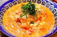 【まろやかなヘルシーレシピ!!】ささみのトマト豆乳煮