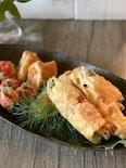 茄子の生ハムチーズ巻き天ぷら