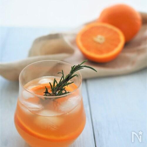 アイスオレンジティー