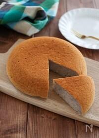 『簡単バナナ炊飯器ケーキ♪油 砂糖 卵 小麦粉 乳製品不使用』