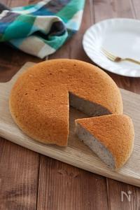 簡単バナナ炊飯器ケーキ♪油 砂糖 卵 小麦粉 乳製品不使用