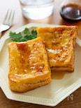 隙間時間にパパッと焼きたて♪『シナモン香るフレンチトースト』