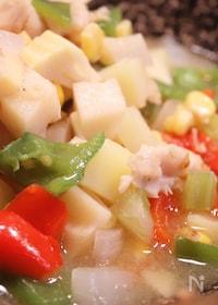 『中華風 筍と鶏胸肉の旨煮込み 』