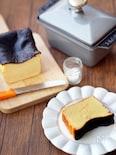 バスクの黒いチーズケーキ