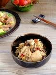作り置きにも☆どっさりキノコと鶏胸肉の中華風南蛮和え!