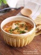 お鍋入れて煮るだけ♡夏に食べたい*麻婆風ピリ辛スープ♡