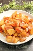 野菜のとんかつソース煮