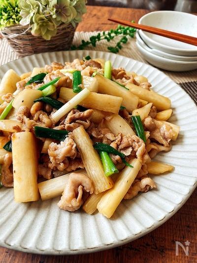 豚肉 人気 レシピ 長芋