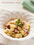 お豆とじゃがいものマスタードサラダ