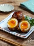 半熟卵がトロッと美味しい★『ゆで卵の肉巻き』