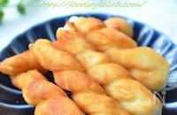 七夕の揚げ菓子【さくべい(索餅)】塩味がクセになる美味しさ!