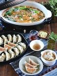 <BRUNO>パクチー春雨餃子&キムチでお手軽担々スープ