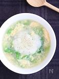 大根おろしと白菜の卵スープ