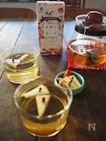 りんごとクローブとハチミツの東方美人茶