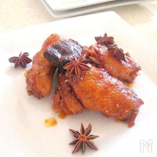 鶏手羽のフライパンで作るスパイシー焼き