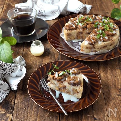 パン粉で出来る!ベトナム風バナナケーキ【粉類・卵なし】