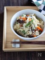 金芽ロウカット玄米もっちり!で作る山菜おこわ