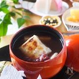 【缶詰・時短】ゆで小豆缶詰で作る*簡単おしるこ
