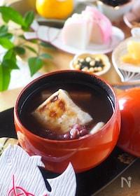 『【缶詰・時短】ゆで小豆缶詰で作る*簡単おしるこ』