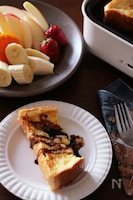 朝からおうちパーティー♡焼きたてとろっふわフレンチトースト