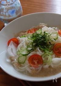 『甘酒で作る麺つゆ〜ビューティソース‼️』