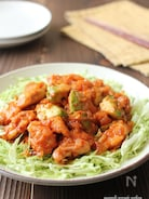 鶏むね肉とアボカドのチリソース炒め