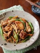 夏バテ予防に!鶏肉とたっぷり野菜のピリ辛味噌炒め