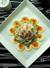 ヨーグルトドレッシングでささみとゆで卵のグレインズサラダ