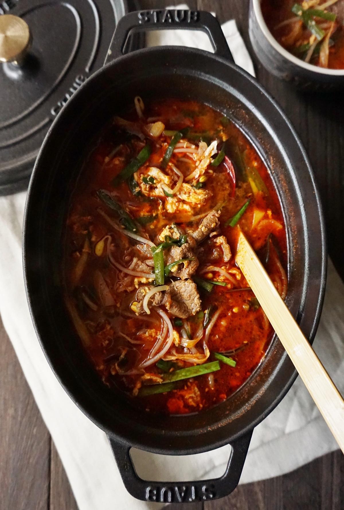 レシピ テグタン スープ