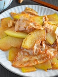 冬瓜と豚肉のオイスター炒め