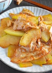 『冬瓜と豚肉のオイスター炒め』