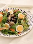 卵と鯖缶のニース風サラダ