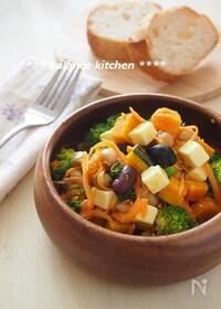 『【作り置き可能】豆とチーズのビタミンACEサラダ』