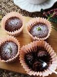 ふわっととろける美味しさ♡ホケミで簡単スフレチョコ蒸しケーキ
