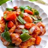 豚肉より好きかも♡ 3種類の彩り野菜を使った酢鶏