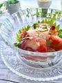 トマトと蛸の青紫蘇まみれ冷んやりジュレサラダ