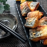 カレー粉で旨さ格段にアップ・漬け込み不用♡塩鯖の竜田揚げ
